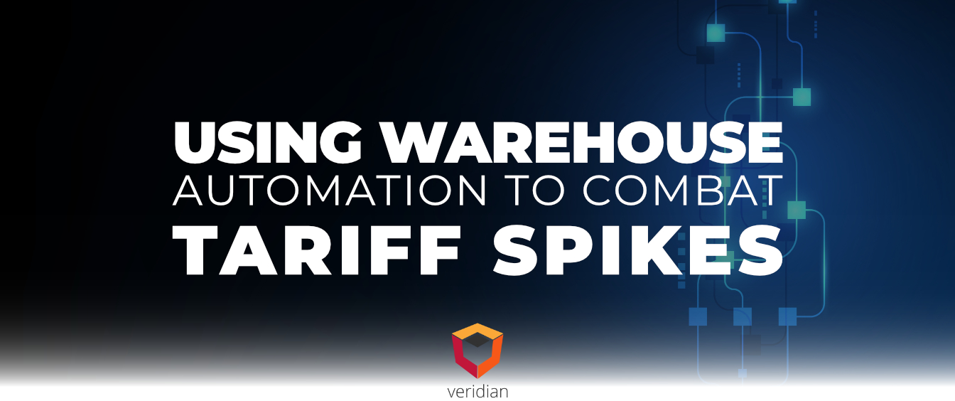 Using Warehouse Automation to Combat Tariff Spikes