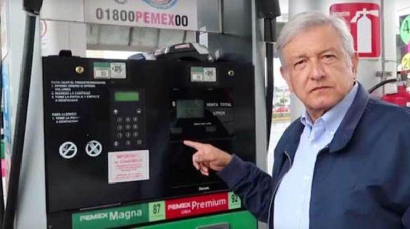 21205f533a569 AMLO incumplió su promesa de bajar los precios de la gasolina