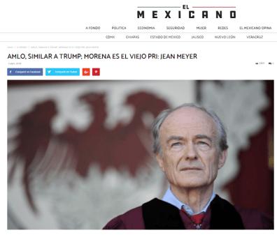 López Obrador, similar a Trump