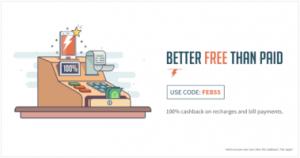 Freecharge FEB55 Promocode