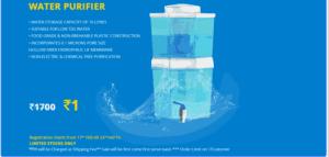 Zotezo Water Purifier Flash sale registartion