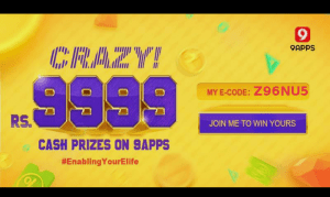 9Apps Elife Contest Code