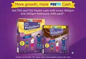 Paytm Pediasure Offer