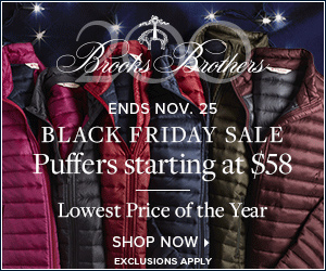 Black Friday Sale Puffers Starting at $58