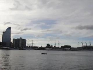 El Cano en Puerto Madero, Buenos Aires.