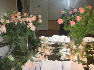 Miles de rosas