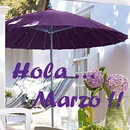 Hola Marzo ¡