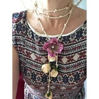 collar de flores primavera SOUTH BEACH - Verili