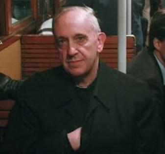 Pope Francis Hidden Hand