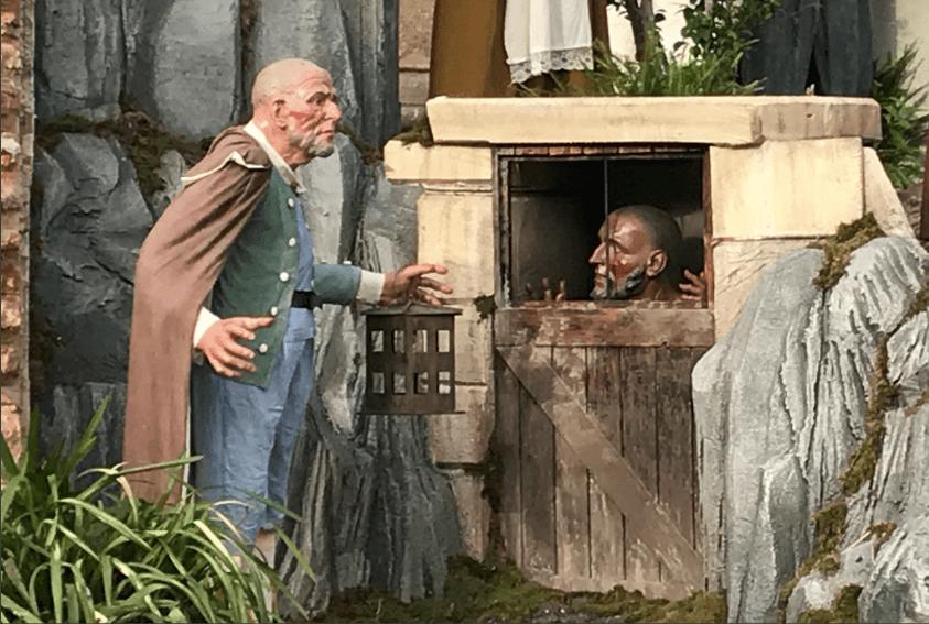 Vatican Nativity Scene 2017 - Prisoner