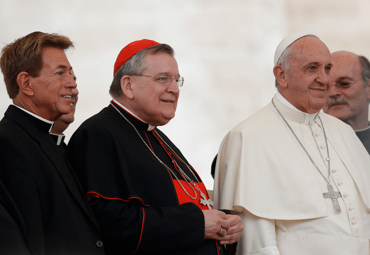 burke with pope