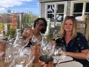 Wine Tasting at Croix Vineyard