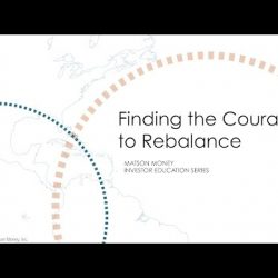 Finding the Courage to Rebalance