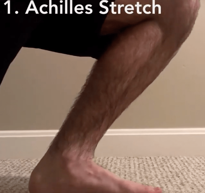 Exercises to improve your ankle mobility