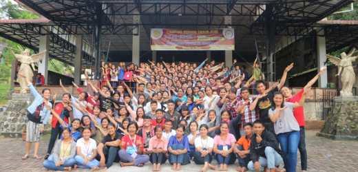 127 Calon Anggota Ikut Camro KMK St. Ignatius de Loyola Unika Santo Thomas