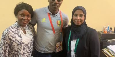 Elim mondial féminin U17 : feuille de match Guinée vs Guinée Bissau.