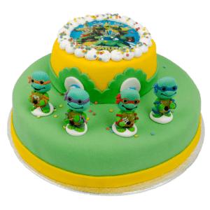 3D Ninja Turtle Taart