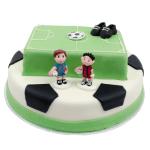 3D Voetbal Taart