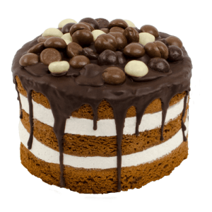 Chocolade Pepernoot Layer Cake