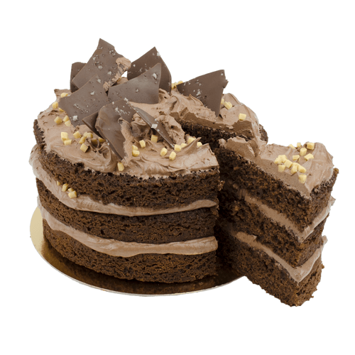 Chocolate Salted Layer Cake