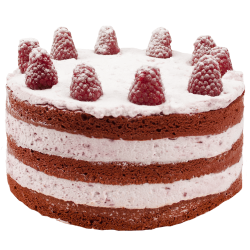 Red Velvet Raspberry Love Layer Cake