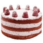 Red Velvet Raspberry Love Layer Cake