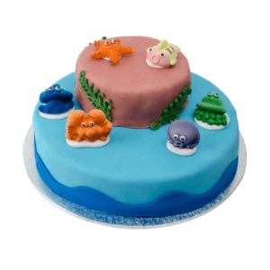 3D Zeedieren Taart