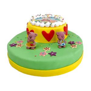 3D Lovely Bears Taart