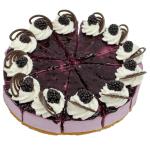 Bosvruchtenbavaroise taart