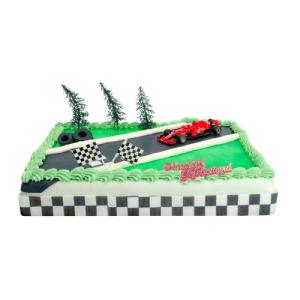 Formule 1 Ferrari taart