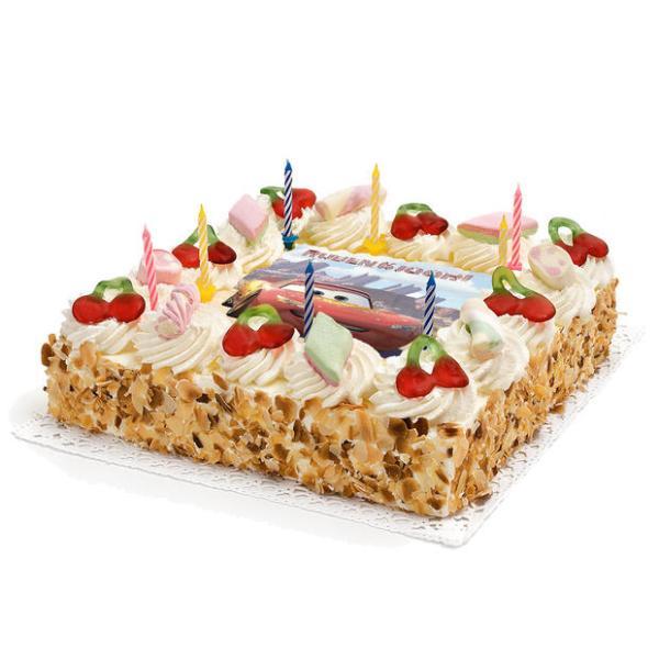 Cars Verjaardags taart