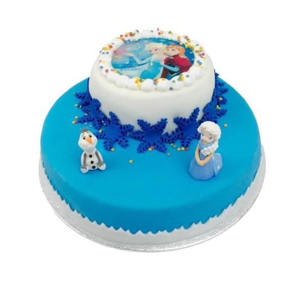 Frozen stapel taart