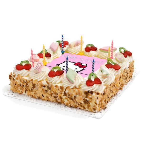 Hello-Kitty Verjaardags taart