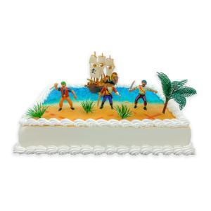 Piraten marsepein taart