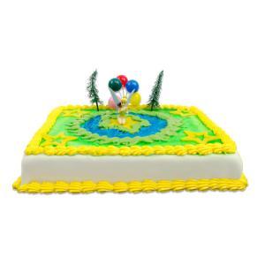 Tinkerbell marsepein taart