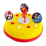 Iron Man Marsepeintaartje