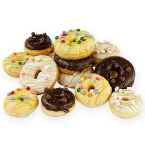 Kinder verjaardags donuts
