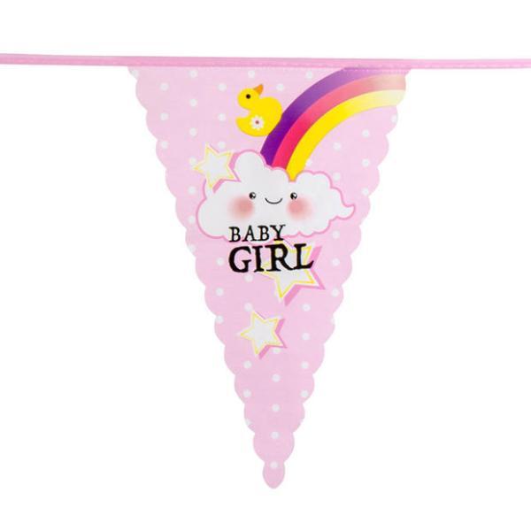 Baby girl vlaggenlijn