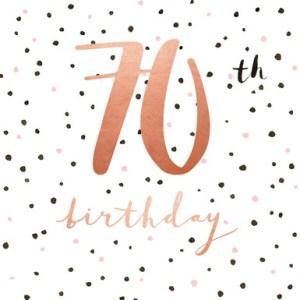 Verjaardagswens 70 jaar