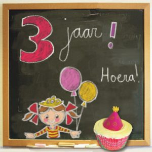 Verjaardagswensen 3 jaar