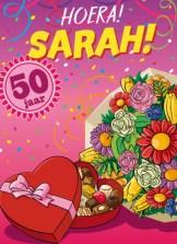 Verjaardagswensen 50 jaar Sarah