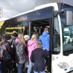 Sat1Regional begleitet Busschule in Harrislee