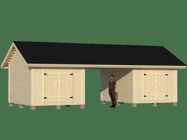 Moderni parilato 2 x 10m2