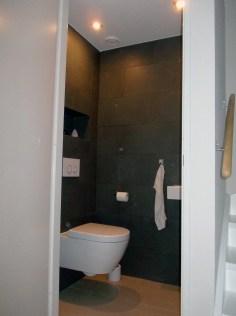 Hangend Toilet Verlaagd Plafond Inbouwspots