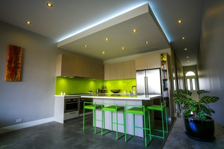 Open Keuken Verlaagd Plafond Inbouwspots LED Verlichting