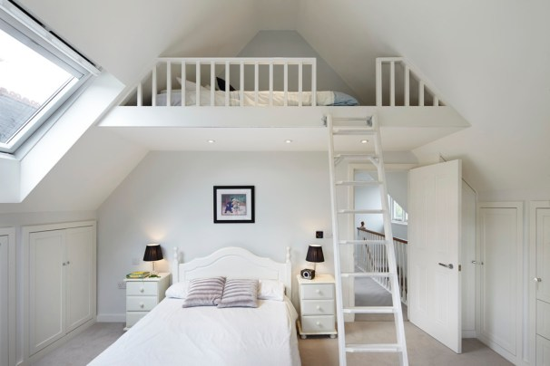 Tienerkamer Zolder Verlaagd Plafond