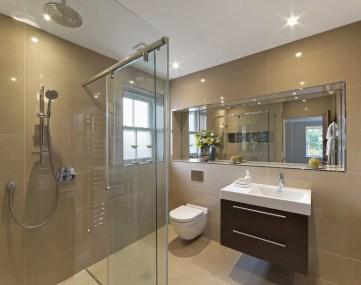 Verlaagd Plafond Spotjes WC in Douche