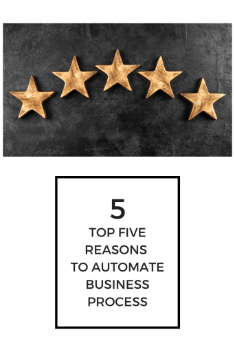 top 5 reasons to automate business process