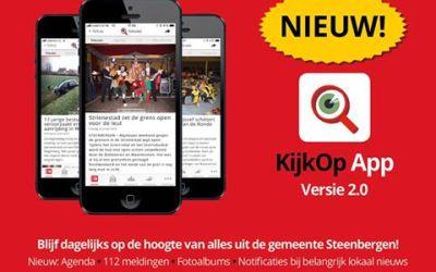 Onze KijkOp App heeft een opvolger in versie 2.0!