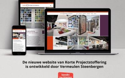 Een nieuwe website voor Korteproject.nl!